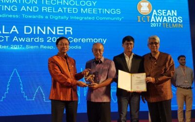 PODD ได้รับรางวัลจากงาน ASEAN ICT Awards 2017