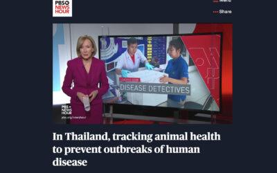 PBS เสนอข่าวโครงการผ่อดีดี ในช่วง Leading Edge of science and medicine